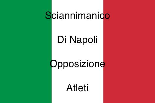 Sciannimanico-Di Napoli-Opposizione-Atleti